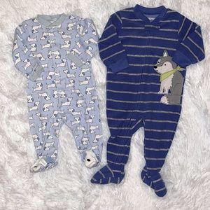 $5 Sale Lot of 2 Boys Sleepers